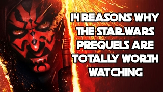 "14 reasons why the ""star wars"" prequels are totally worth watching"