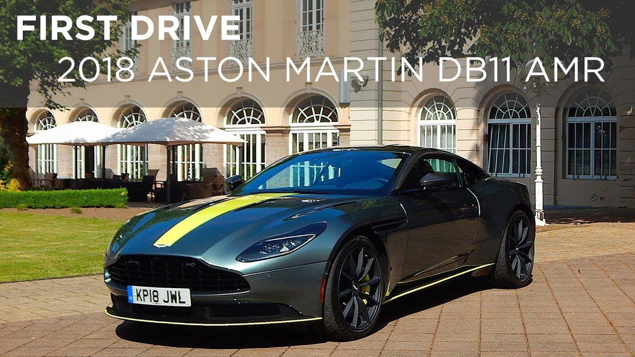 First Drive Aston Martin DB AMR Drivingca YouTube - 2018 aston martin virage