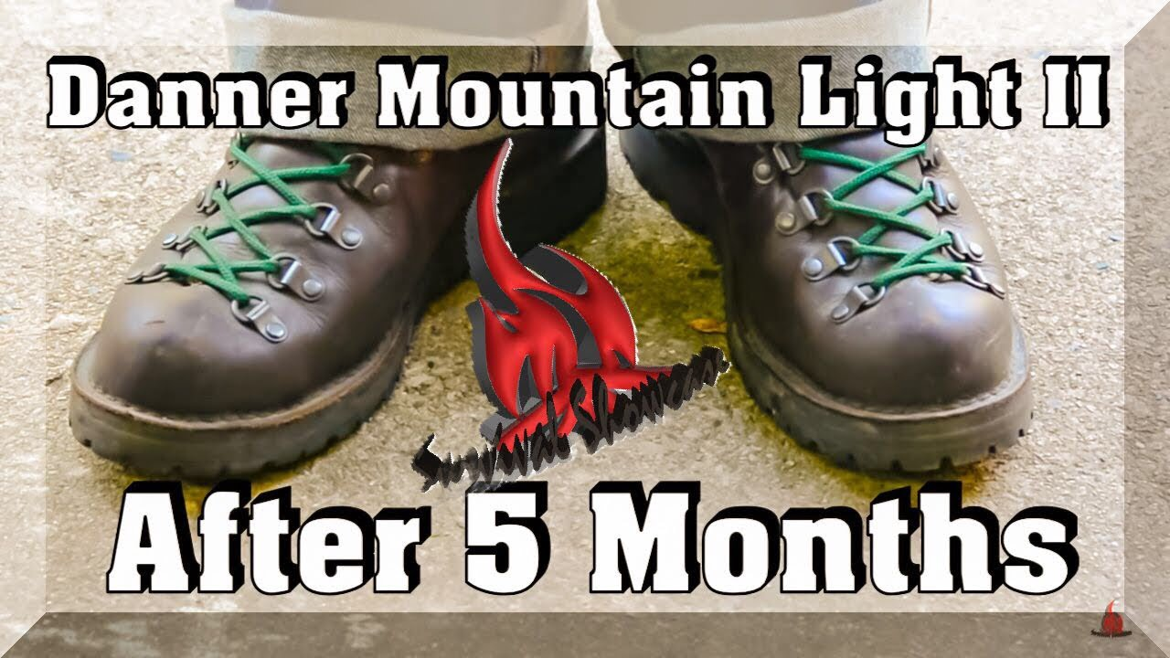 Danner Mt Light II After 5 Months - YouTube