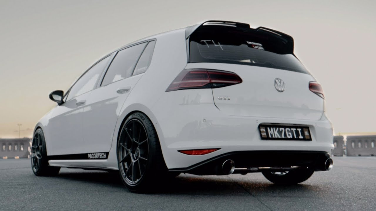 volkswagen golf gti and r mk7 5 xforce performance exhaust system