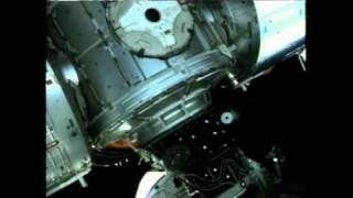 Discovery Flips for Safety Before Docking & Hatch Opening