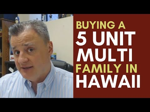 Buying a 5 Unit Multi Family in Hawaii | Mentorship Monday 095