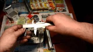 Растачиваем цилиндр под поршень от Хонды Дио