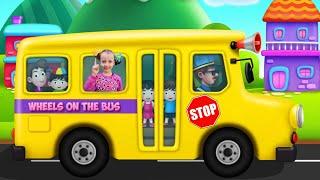 Wheels on The Bus song | 동요와 아이 노래  어린이 교육 | Ulya Liveshow