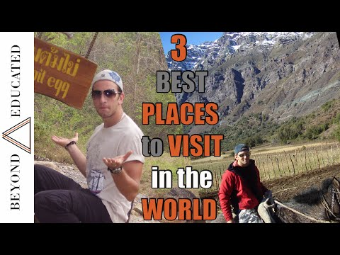 Top 3 Travel Destinations in the World - How to travel the world
