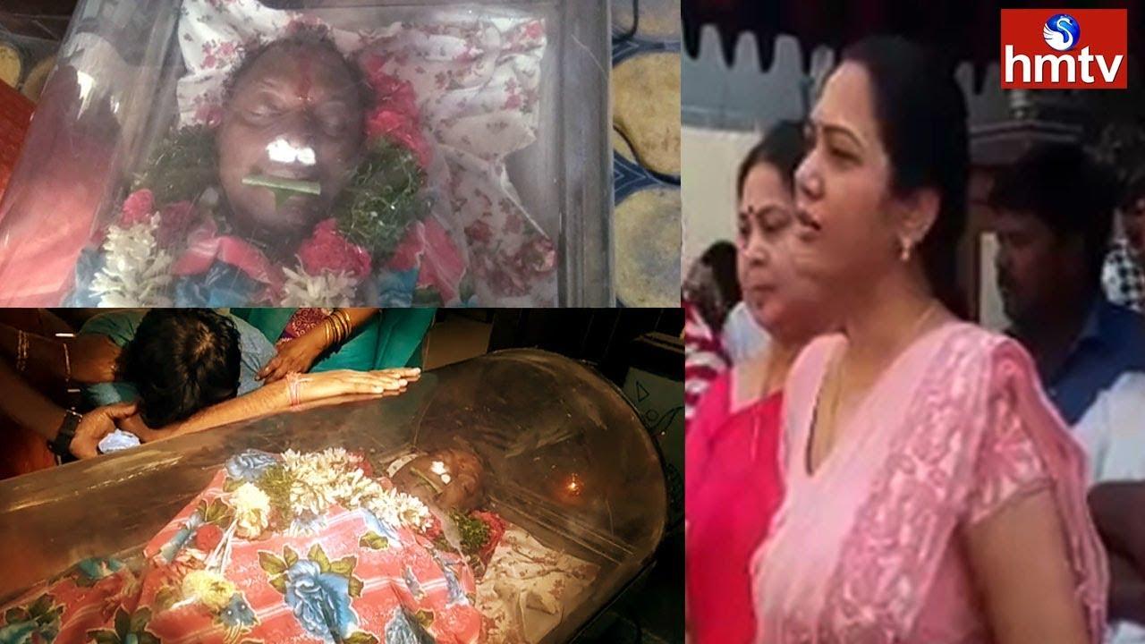 actress-hema-pays-homage-to-gundu-hanumantha-rao-hmtv