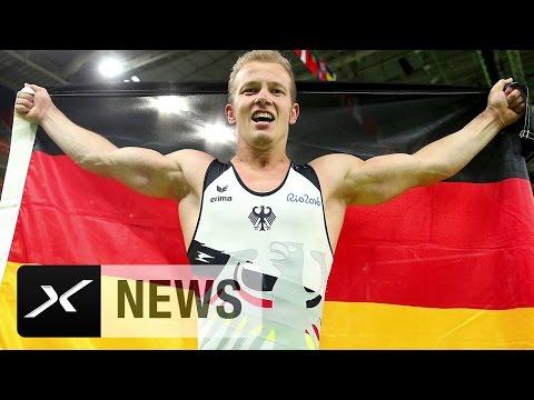 Turnen: Gold-Abschied für Reck-Riese Fabian Hambüchen | Olympische Sommerspiele Rio 2016
