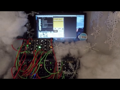 Interactive Live Stream with Make Noise 0-Coast & Strymon Magneto