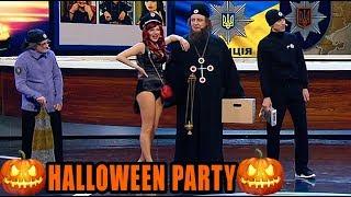 Хэллоуин 2019 - лучшие образы и макияж на хэллоуин - Батюшка, проститутка или гопник?