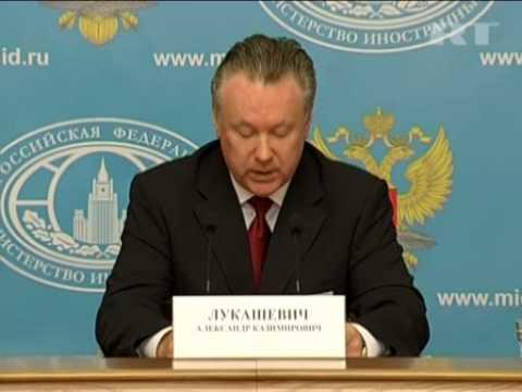 Oct 18, 2012 Russia_Turkey admits seized Russian cargo was legal - Lukashevich
