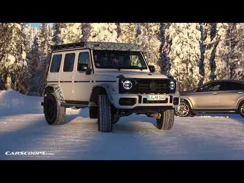 SPIED: 2022 Mercedes-AMG G63 4×4²
