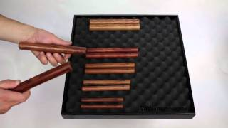 Claves 2-Tone Rosewood 25mm video