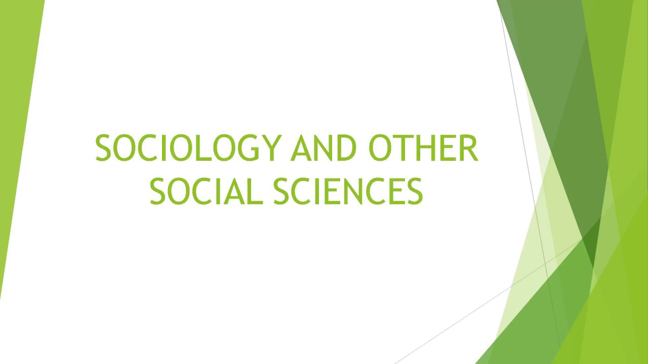 other social sciences