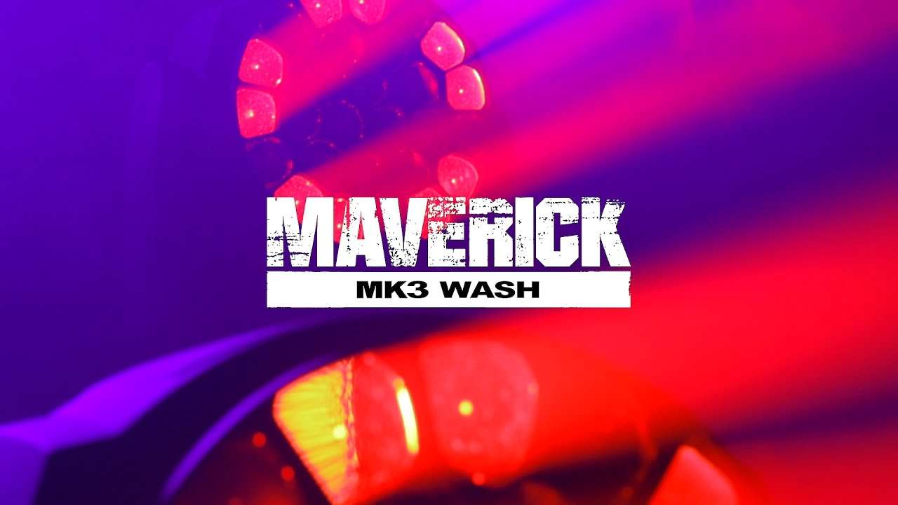 Maverick MK3 Wash   CHAUVET Professional