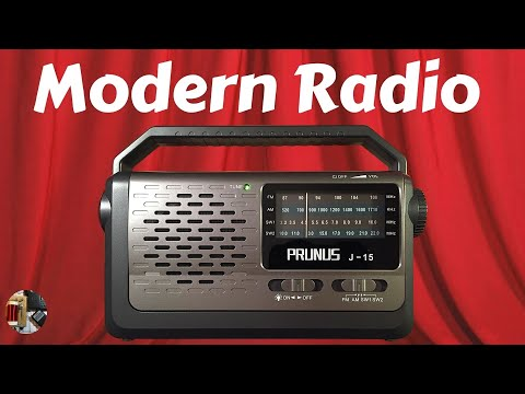 Prunus J-15 AM FM Shortwave Portable Radio Review