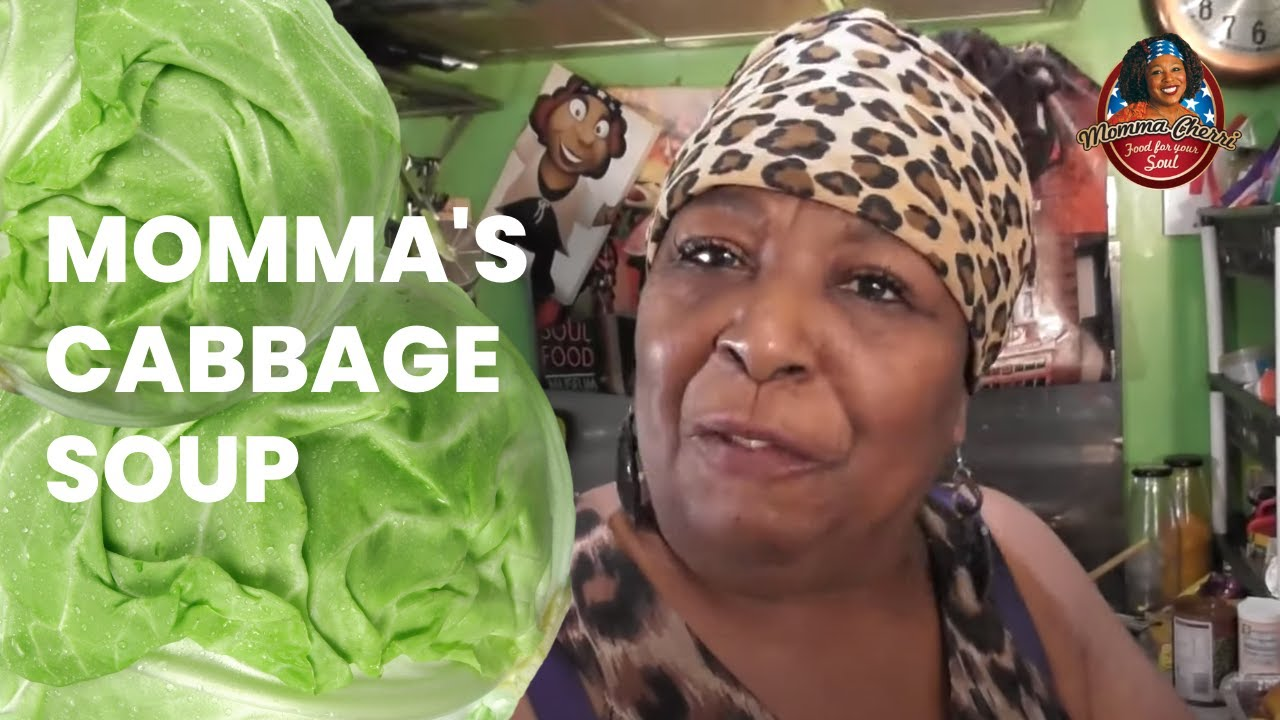 Momma S Quick Cabbage Soup The Best Youtube