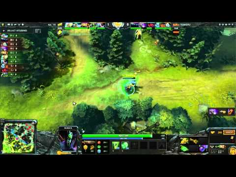 Na'Vi Vs TongFu UB Round 2A 1 Of 3   Russian Commentary