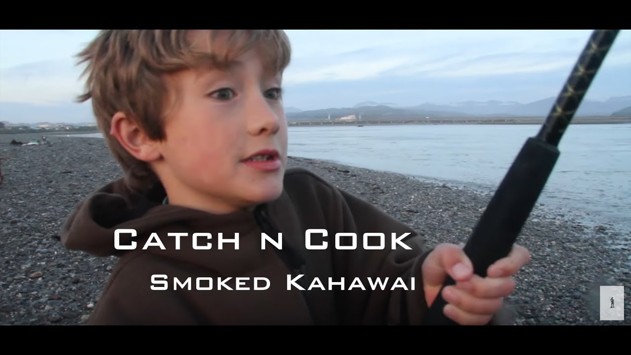 Fishing catch and cook smoking pelagic kahawai fish wild for Catch and cook fish
