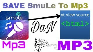 Cara menyimpan rekaman smule menjadi mp3