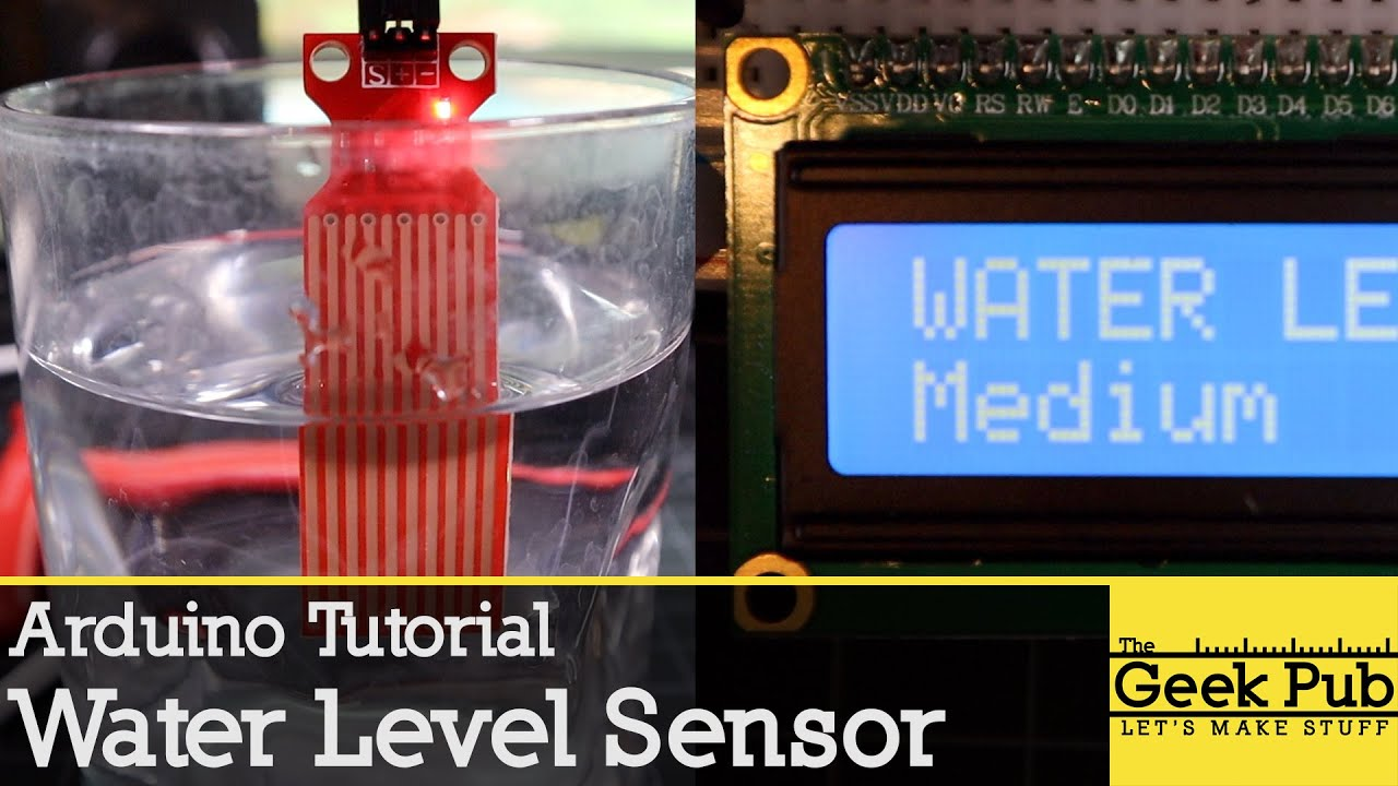 Arduino Water Level Sensor Tutorial