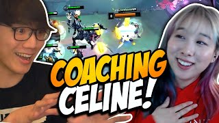 BoxBox coaches Celine iฑ TFT (Beginner Friendly TFT Guide)