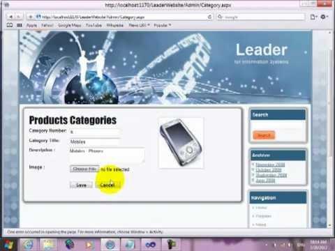 26- برمجة الـ Administrator  لجدول Product وجدول Category