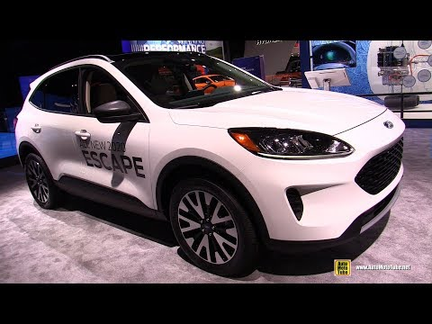 2020 Ford Escape - Exterior and Interior Walkaround - Debut at 2019 NY Auto Show