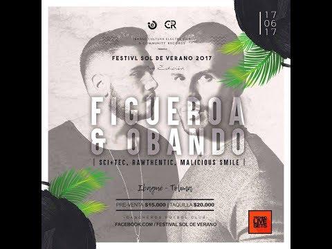 Figueroa & Obando @ Festival sol de verano 2017 - Ibague 17/jun/17