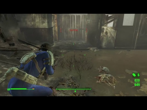 Fallout 4: clear hostiles at university point