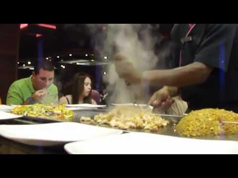 Barceló Bávaro Palace Deluxe Punta Cana - Kyoto Restaurant Teppanyaki - May 25, 2012