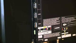 Samsung UN46D6300 back panel
