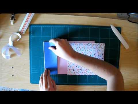Tutorial libro de firmas con lazo youtube - Decorar album de fotos por dentro ...