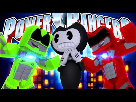 Thumbnail: POWER RANGERS - TRAINING - BENDY TAKES OVER THE CITY!!