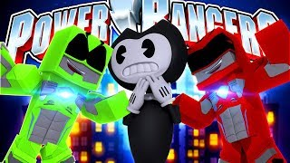 POWER RANGERS - TRAINING - BENDY TAKES OVER THE CITY!!