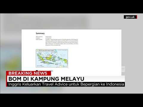 Inggris Keluarkan Travel Advice Untuk Berpergian ke Indonesia