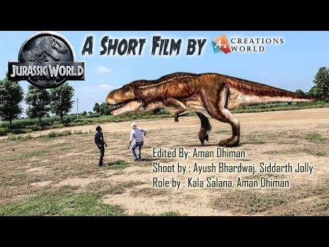 The lost world Jurassic Park Fan Film Teaser (Dinosaur in Jungle)