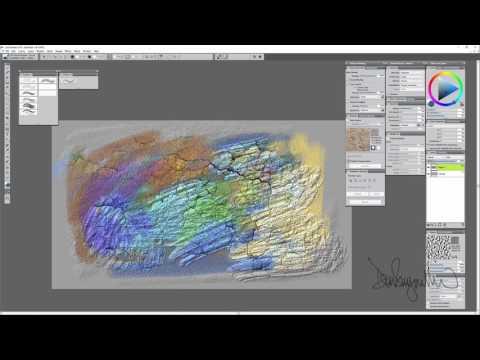 Corel Painter 2018 Digital Art Software NEW 2.5D Texture Painting