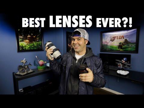 Best LENSES EVER! Camera Lens tutorial!