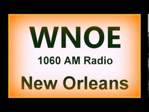 New Orleans 1960s Radio:  WNOE AM 1060 and WTIX AM 690:  3 promos.