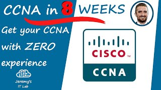 ZERO to CCNA in 8 weeks - Get your CCNA in 2019!