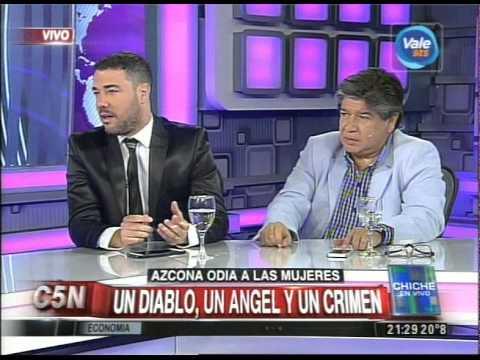 C5N  - CHICHE EN VIVO: UN DIABLO, UN ANGEL Y UN CRIMEN