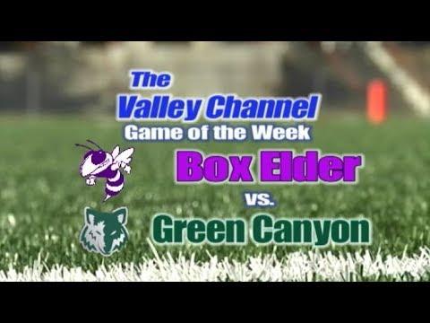 Box Elder High School at Green Canyon High School football Game 9-7-18