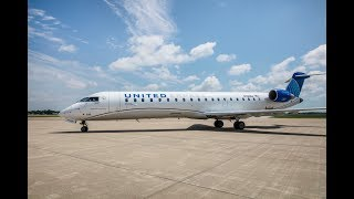 United   Meet The Newest Member Of The Fleet: The Crj 550