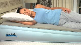 Gravity1st™ Elevated Sleep Systems Mattress and remedies for acid reflux- How it Works