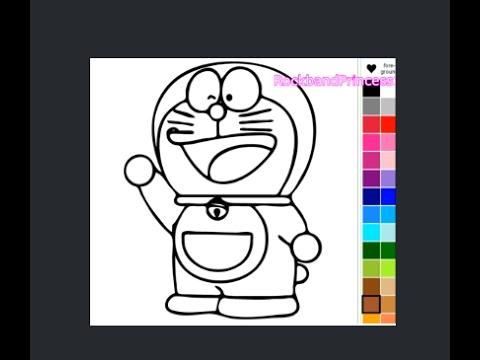 Doraemon Coloring Games Youtube