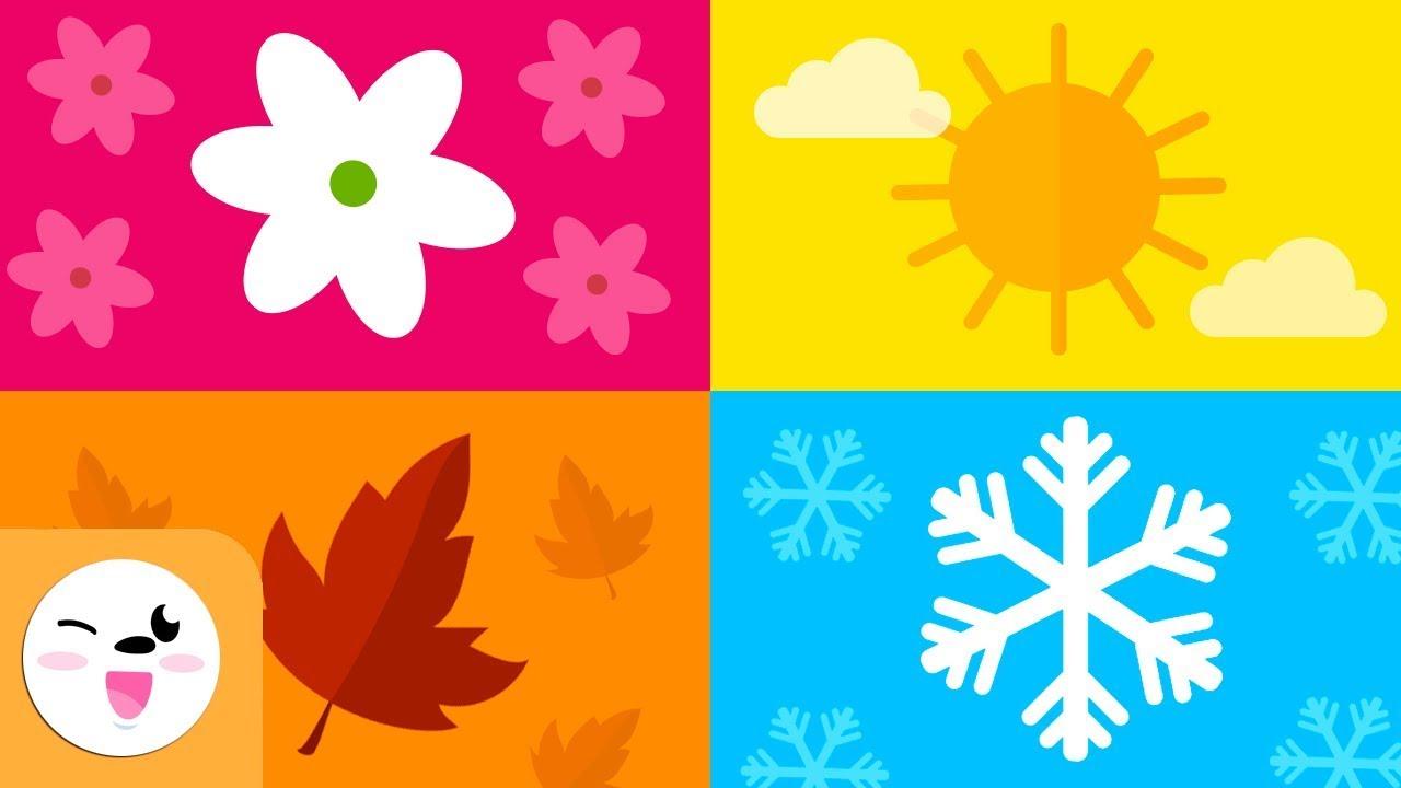 Download Les saisons de l'année pour les enfants - Printemps, Été, Automne et Hiver - Que sont les saisons ?