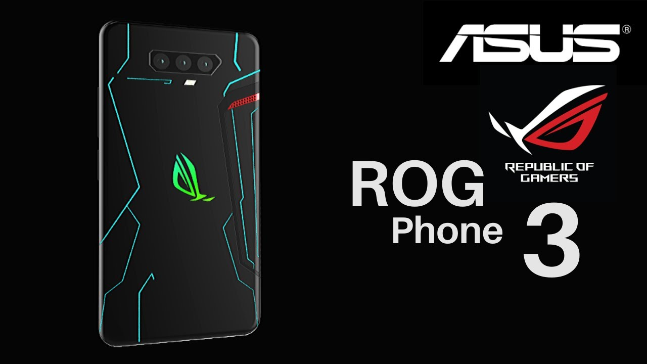 Asus Rog Phone 3 Trailer Concept Design Introduction - YouTube