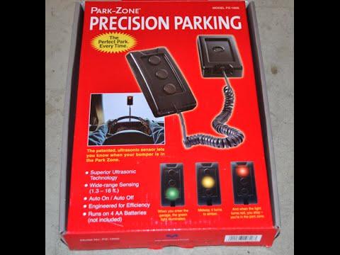 Park Zone PZ-1600 Precision Parking Aid Measurement Limited