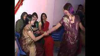 Bangladeshi Beautiful Girls Dancing with his working partner in the room