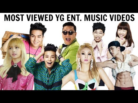 [TOP 100] Most Viewed YG ENTERTAINMENT Music Videos